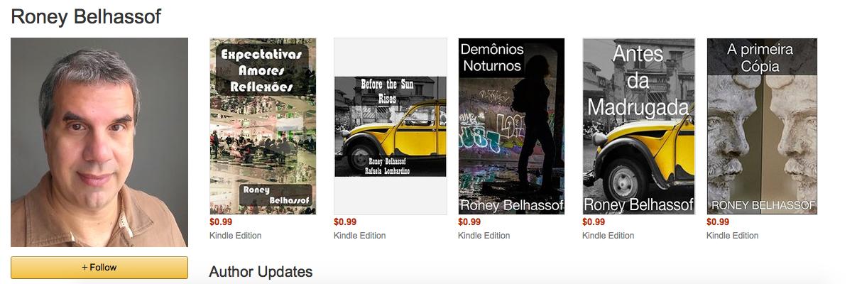 Meu perfil de autor na Amazon