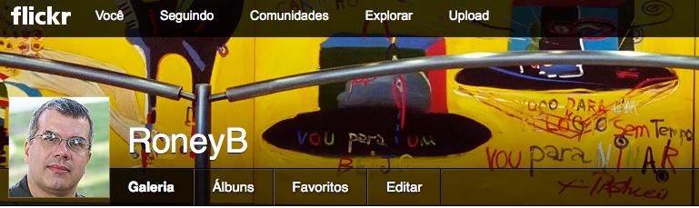 Meu perfil no FLickr