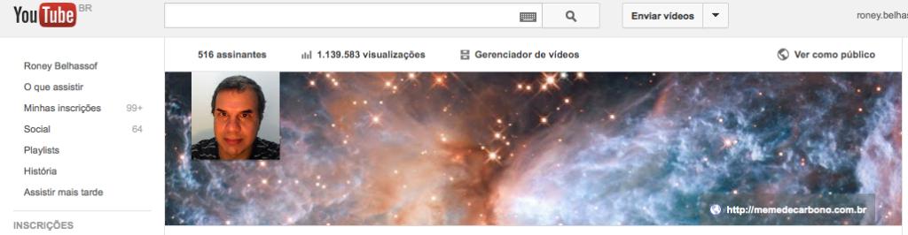 Clique para assinar o canal no Youtube
