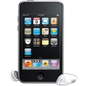 Imagem do iPod Touch, o Internet Tablet da Apple