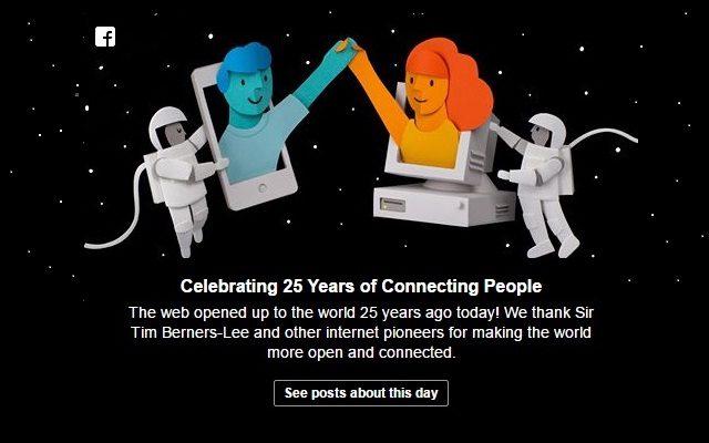 A World Wide Web faz 25 anos (de novo)