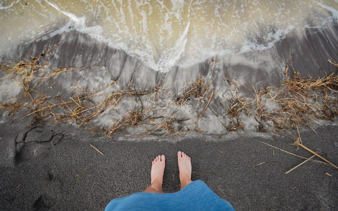 As ondas e a maré