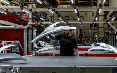 Inside Tesla's Audacious Push to Reinvent the Way Cars Are Made