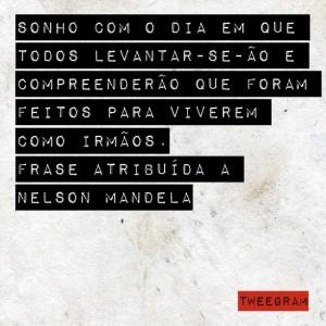 Texto atribuído a Nelson Mandela