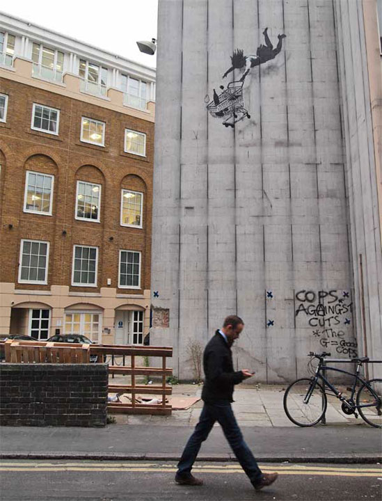 Queda livre - Banksy