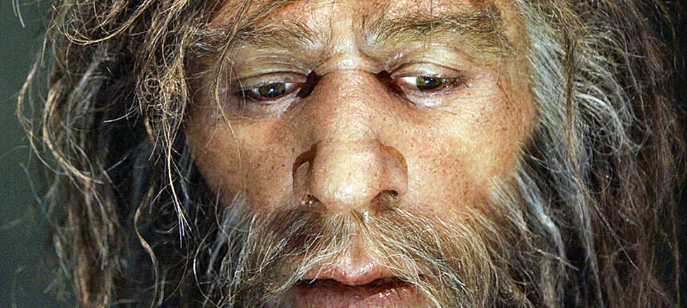 Close de neandertal