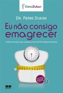 Capa do livro Eu não consigo emagrecer, de Pierre Dukan