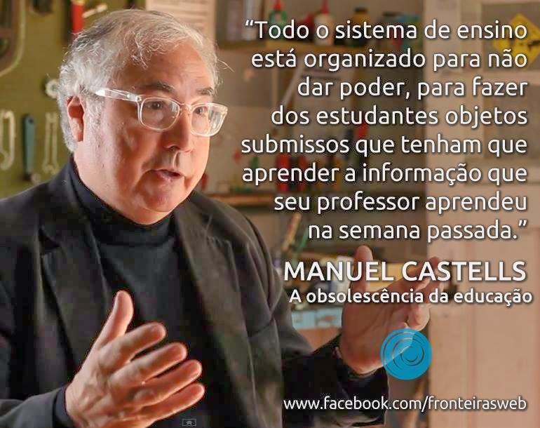A educação não dá poder ao estudante