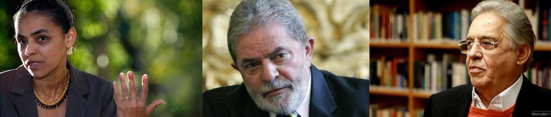 A reforma política da Marina Silva, do Lula e do FHC