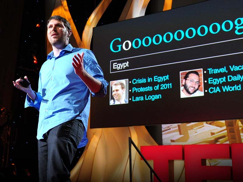 "Eli Pariser: Beware online ""filter bubbles"" 