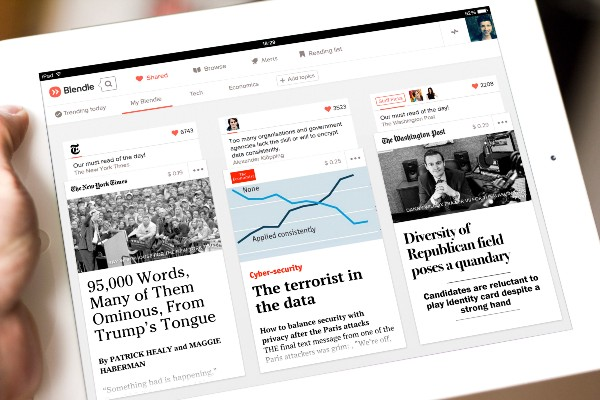 With the biggest publishers in the country on board, we're launching our journalistic startup in… — On Blendle — Medium