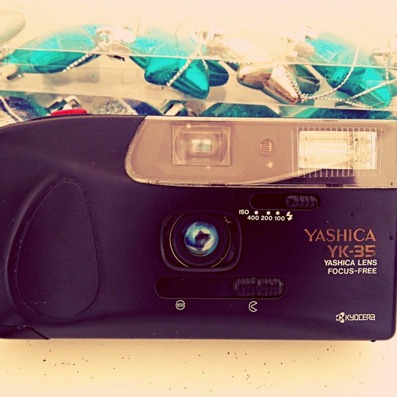 Câmera Yashika