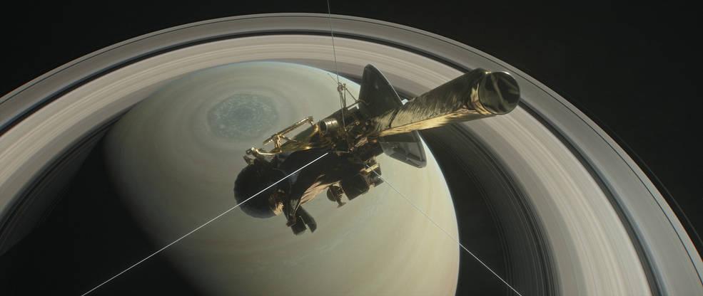 Fase final da sonda Cassini
