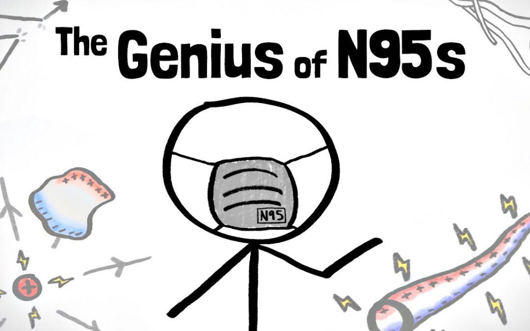 A impressionante física das máscaras N95